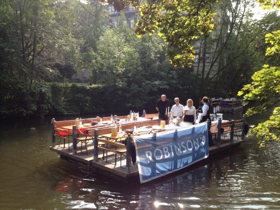 Das Boot ruft: ROBINSON Hannover auf Betriebsausflug