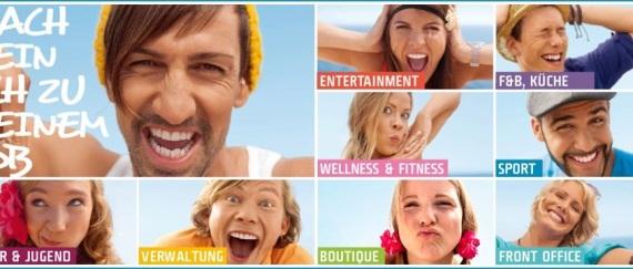 Arbeiten wo andere Urlaub machen: Die neue ROBINSON Jobs-Kampagne