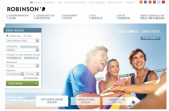 Mehr Bilder, mehr Videos, mehr zu sehen: Das ist die neue ROBINSON Homepage