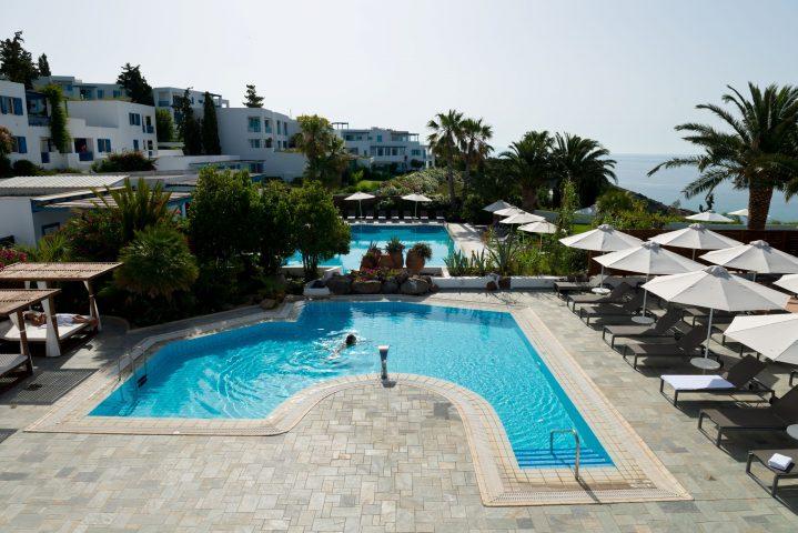 Pool des WellFit Spa im ROBINSON Club Daidalos, Kos Griechenland