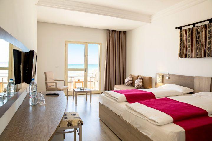 Doppelzimmer mit Meerblick des ROBINSON Club Djerba Bahiya, Tunesien