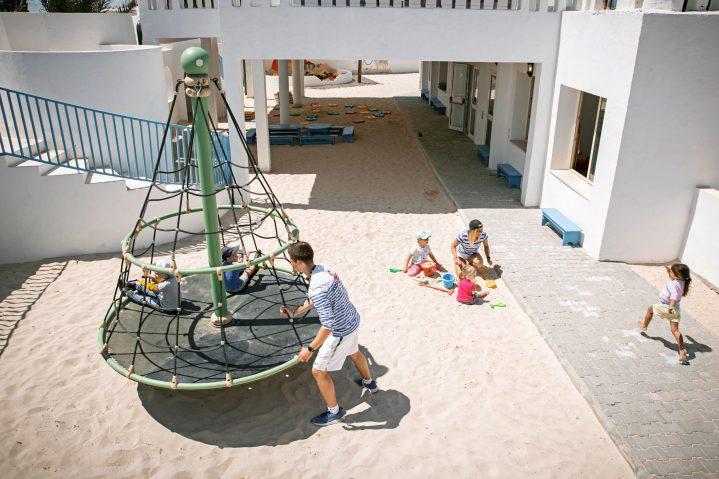 Spielplatz im ROBY CLUB des ROBINSON Club Djerba Bahiya, Tunesien