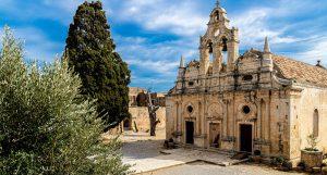 Kloster Arkadi auf Kreta Griechenland