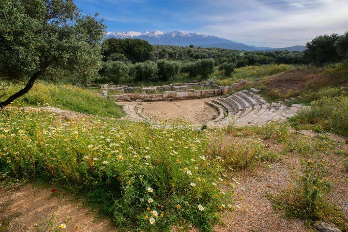 Ruinenanlage Aptera auf Kreta