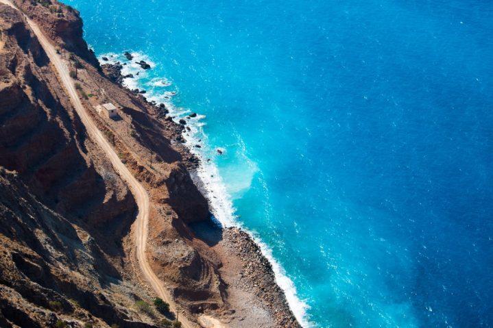 Kretas Strände und Buchten von oben