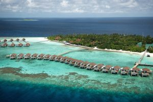 Robinson Club Maldives Wasserbungalows_