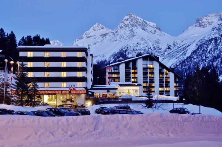 ROBINSON Club Arosa Schweiz im Winter