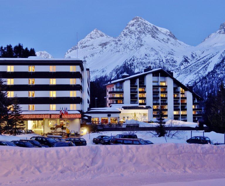 Skifahren in Österreich und der Schweiz