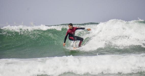 Surfer im Atlantik Fuerteventura