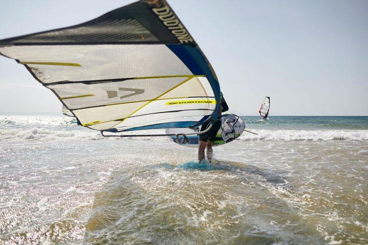 Windsurfer im ROBINSON Club Kyllini Beach, Griechenland