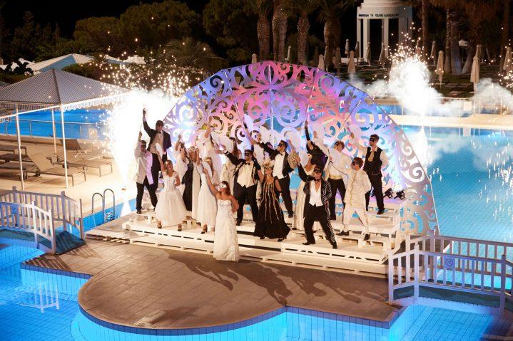 Abendshow im ROBINSON Club Daidalos auf Kos, Griechenland