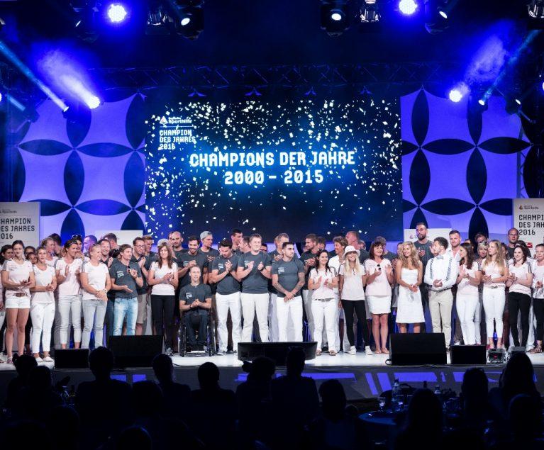 CHAMPION DES JAHRES 2016
