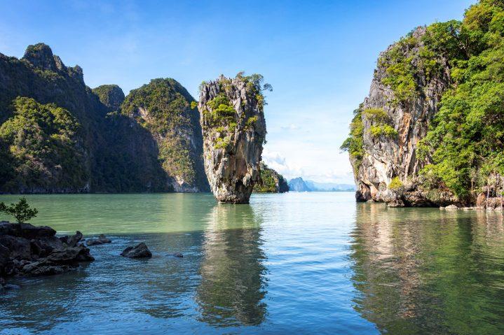 James Bond Felsen in Thailand