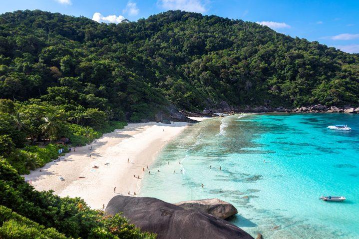 Similian Islands in Thailand