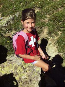 Tochter Marmaris beim Wandern