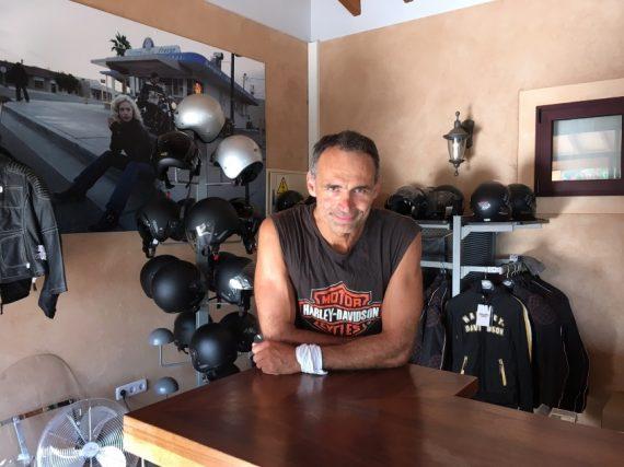 Harley Davidson Mitarbeiter Empfang