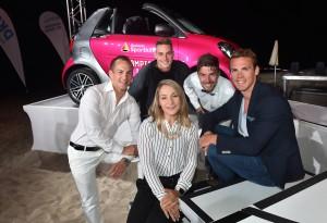 Johannes Rydzek, Simon Schempp, Frank Stäbler,  Johannes Vetter und Kristina Vogel wurden für den Champion des Jahres im ROBINSON Club Apulia nominiert. Foto: picture alliance für Sporthilfe