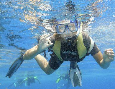 Entdecke die bunte Unterwasserwelt rund um den ROBINSON Club Maldives.