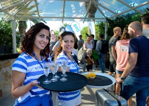 Auftakt zum Champion des Jahres im ROBINSON Club Apulia in Italien: Auf eine tolle Woche! Foto: picture alliance für Sporthilfe
