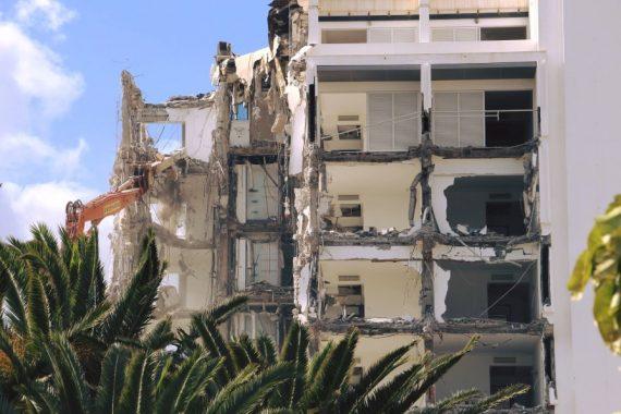 Abriss Hotelkomplex ROBINSON Club Jandia Playa