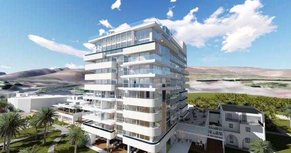 Neues Hotelgebäude ROBINSON Club Jandia Playa