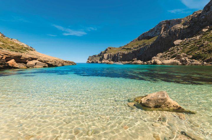 Strand Formentor auf Mallorca