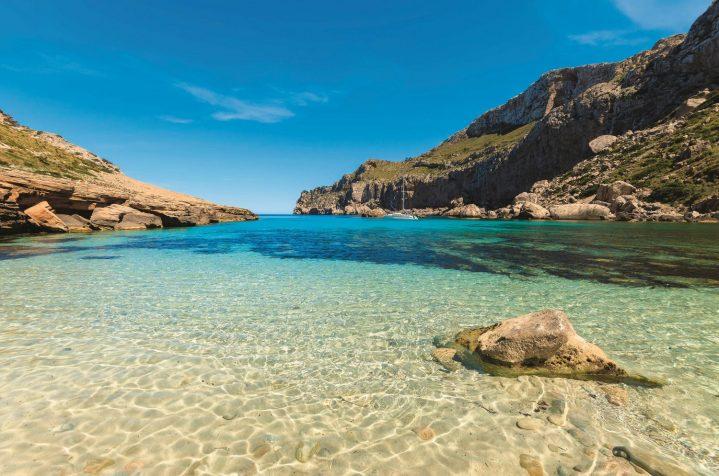 Bucht von Formentor auf Mallorca
