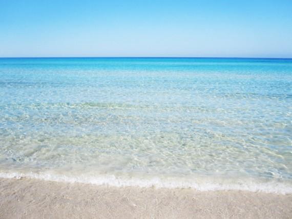 Meer und Strand in Santa Maria di Merino