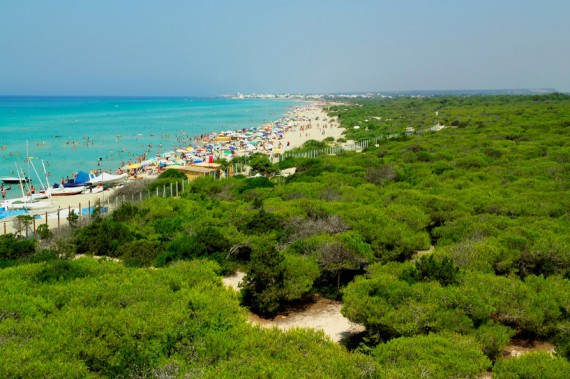 Küste und Strand in Apulien