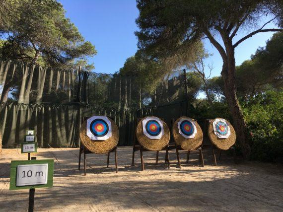 Bogenschießanlage im ROBINSON Club Apulia