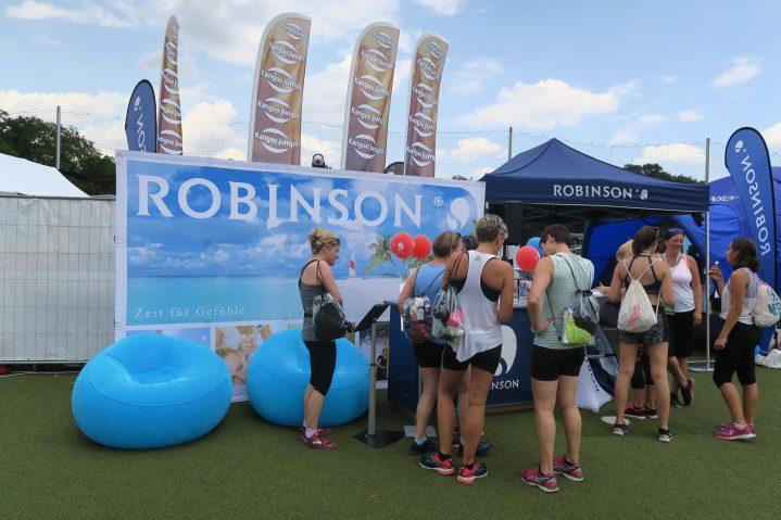 ROBINSON Stand auf dem World Fitness Day 2018