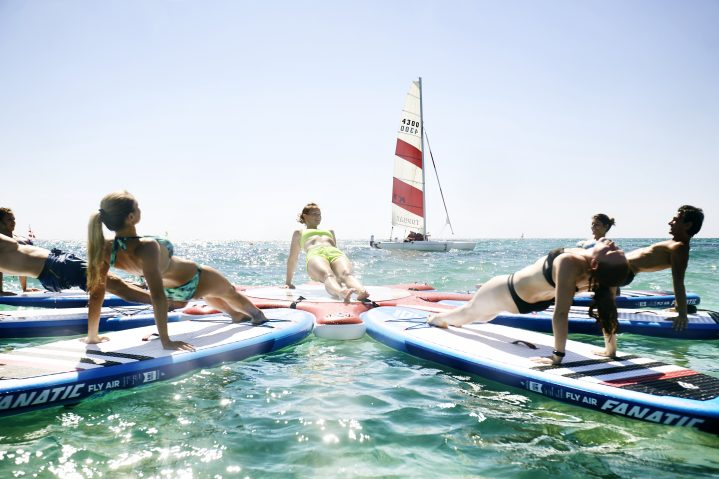 SUP Yoga Angebot im ROBINSON Club Apulia