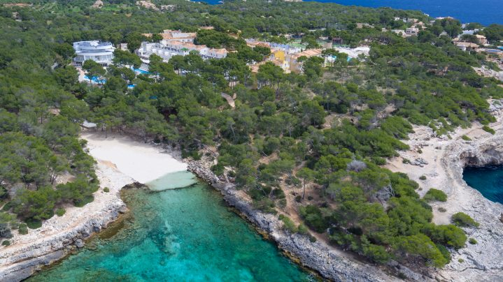Bucht bei Mondrago Mallorca