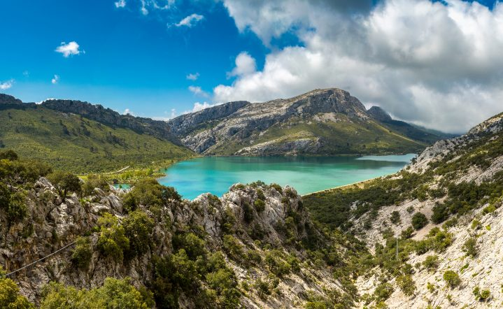 Berglandscahft Tudossa Mallorca