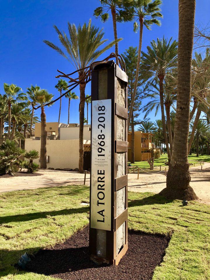 Skulptur im ROBINSON CLUB Jandia Playa, Fuerteventura