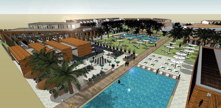 Entwurf ROBINSON Club Cabo Verde Clubanlage
