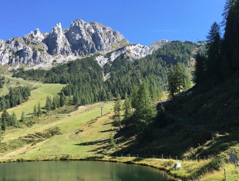 Wandern rund um den ROBINSON Club Schlanitzen Alm in Kärnten.