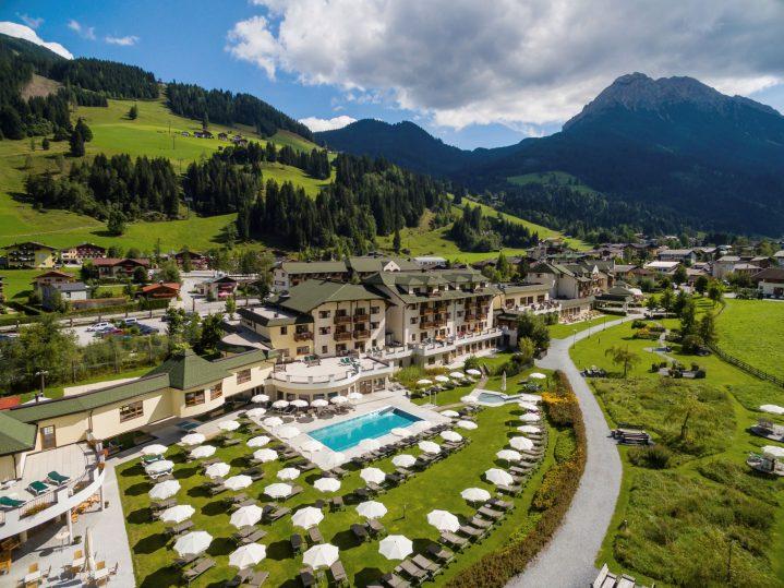 Blick auf den ROBINSON Club Amadé in Österreich