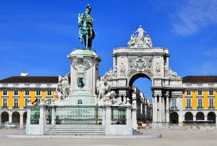 Sightseeing in der Altstadt von Lissabon