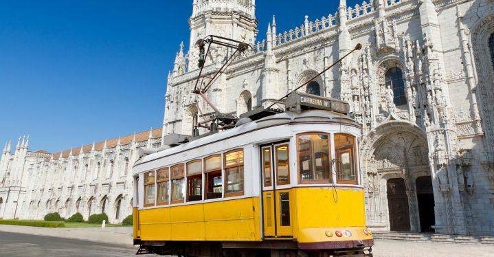 Die legendäre Tram 28 in Lissabon
