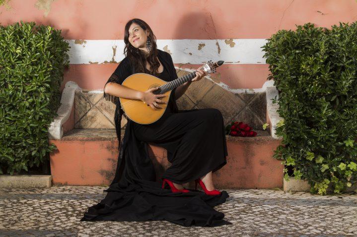 Faro Sängerin in Lissabon
