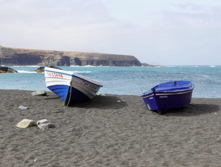 Ruhe und traumhafter Ausblick: der Strand von Ajuy