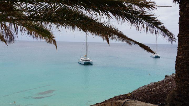 Blick auf die Bucht Jandia Playa