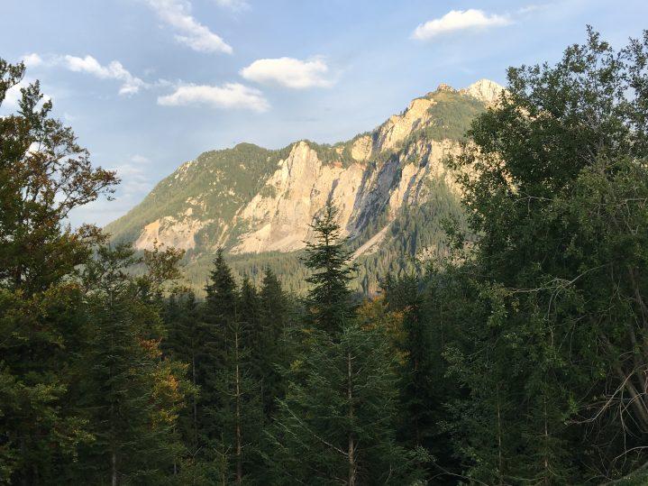 Einmaliges Bergpanorama in Kärnten Österreich