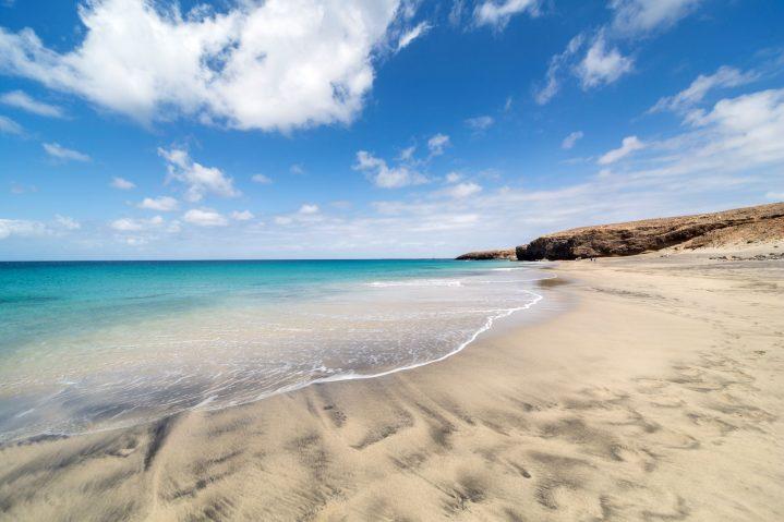 Playa Cofete, Fuerteventura, Spanien