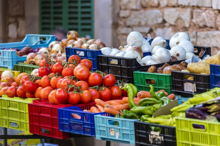 Gemüsemarkt Mallorca