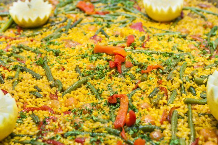 Gemüsepfanne Essen auf Mallorca