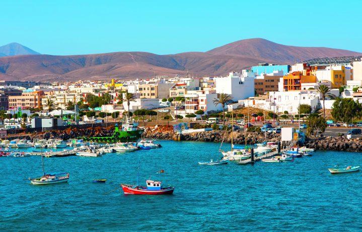 Hafen von Puerto del Rosario Fuerteventura