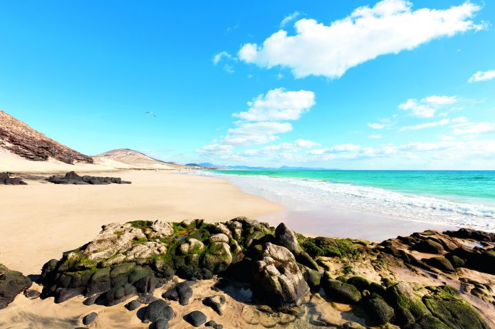 Sandstrand auf Fuerteventura