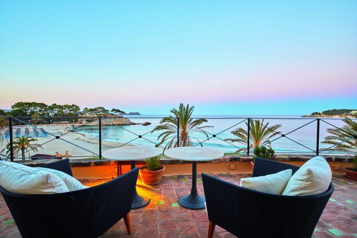 Mallorca Terrasse mit Ausblick